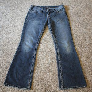 Silver Suki Surplus Flap Pocket Jeans